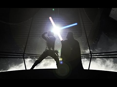star wars evolution of the lightsaber duel full length youtube