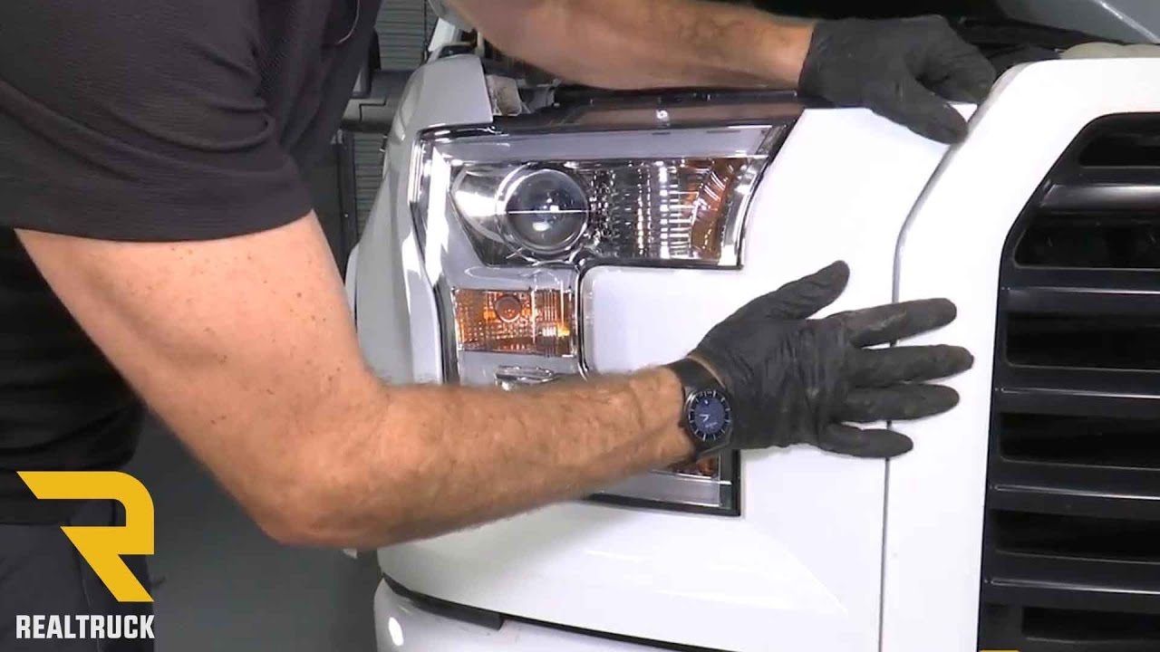 how to install anzo projector headlights on a ford f 150 at realtruck com [ 1280 x 720 Pixel ]