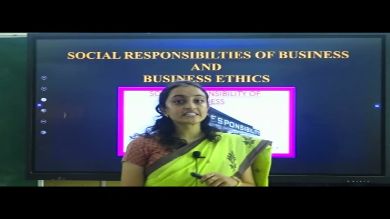 I PUC   BUSINESS STUDIES   SOCIAL RESPONSIBILITIES OF BUSINESS & BUSINESS ETHICS - 05