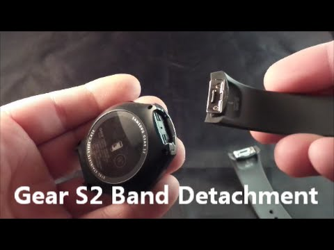 f19af15ff1b Samsung Gear S2 - Changing Bands - YouTube