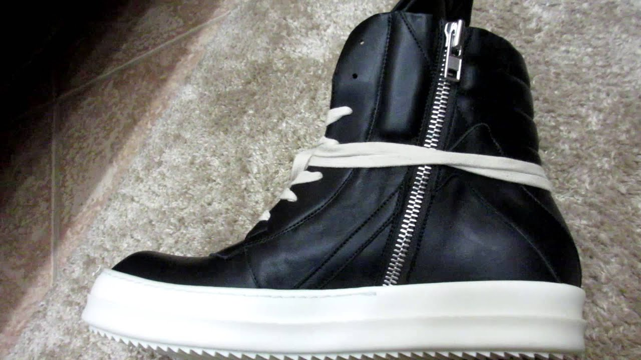 Rick OwensGeobasket high top sneakers 2rtei0Bi
