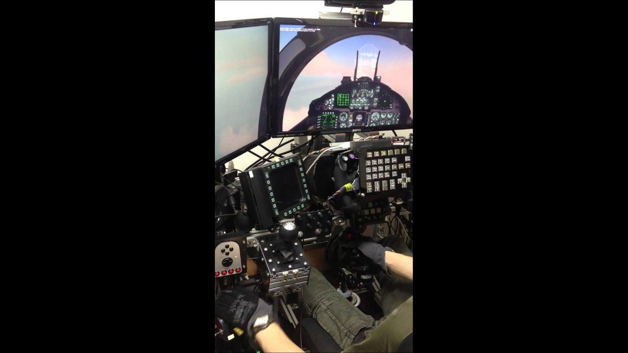 [DCS 1 2] F-15C free flight (onboard)