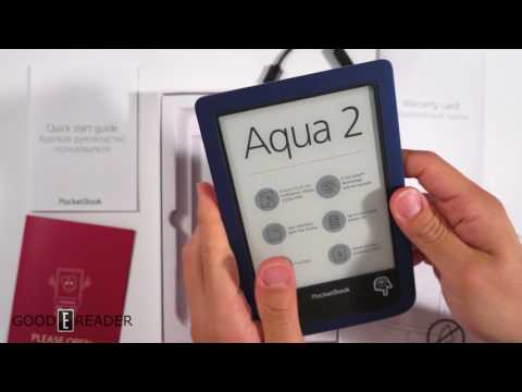 Pocketbook Aqua Unboxing