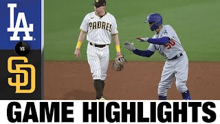Dodgers vs. Padres Game Highlights (4/17/21) | MLB Highlights