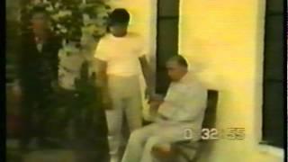 1989年祖师黄性贤在澳大利亚教课录影。