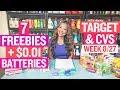 ★ 7 FREEBIES - Target, CVS, Office Depot Couponing Weekly DEALS (8/27-9/2)