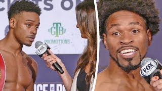 FINAL WORDS!!  Errol Spence Jr vs. Shawn Porter After Weigh-In in Los Angeles