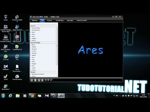 Como baixar, instalar e usar o program Ares.
