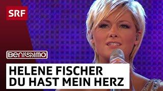 Helene Fischer mit Du hast mein Herz berührt - Benissimo