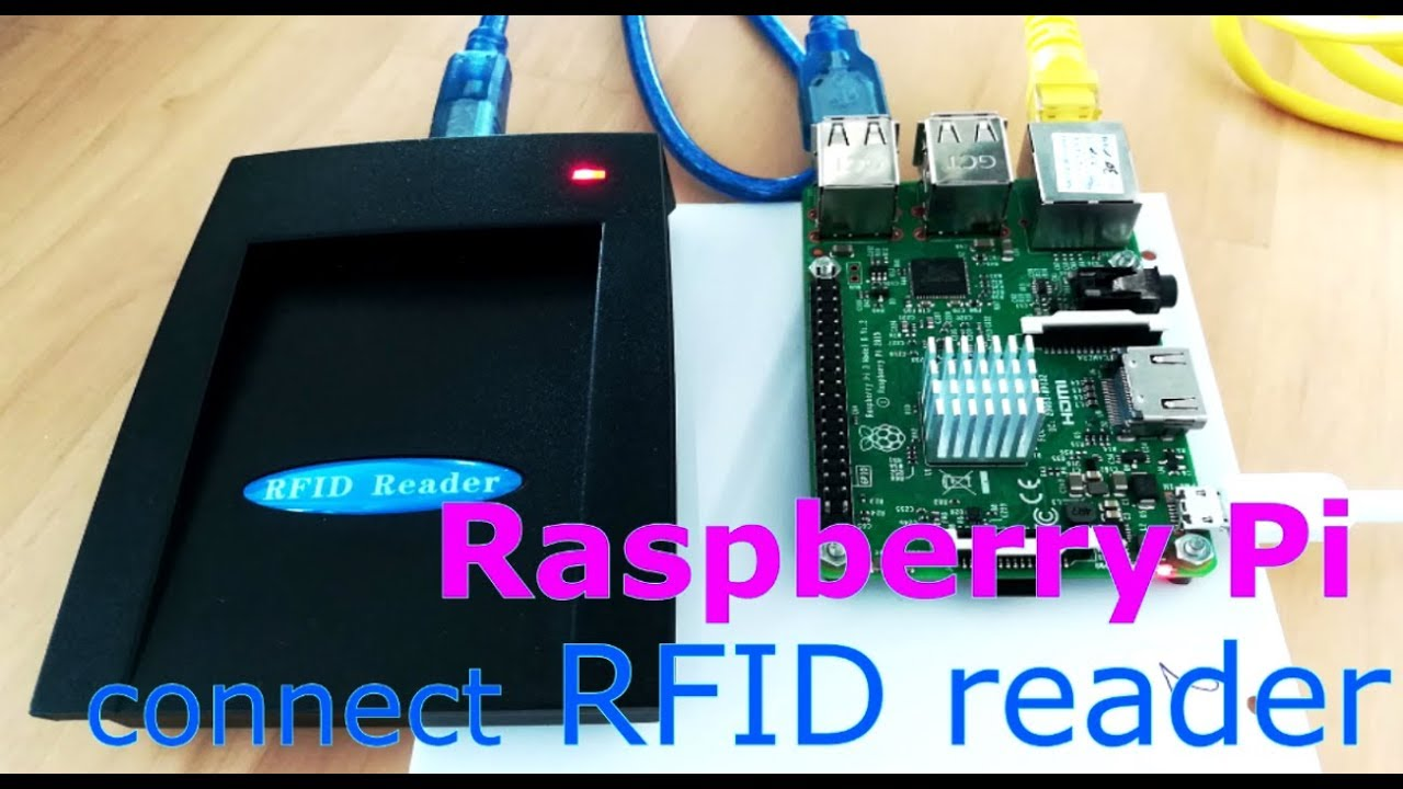 Raspberry Pi connect USB RFID reader ( SL500L-USB )