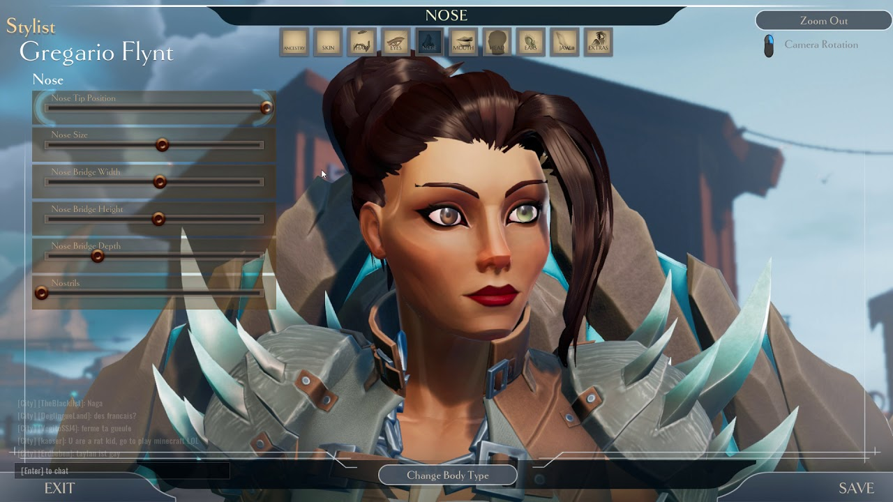 Dauntless - Character Creation - Good looking female character