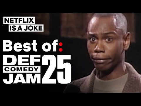 Dave Chappelle, Chris Tucker, Kevin Hart & More In Best Of: Def Comedy Jam 25 | Netflix Is A Joke