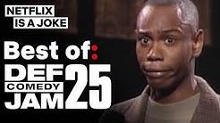 Dave Chappelle, Chris Tucker, Kevin Hart & More In Best Of: Def Comedy Jam 25 | Netflix Is A Joke
