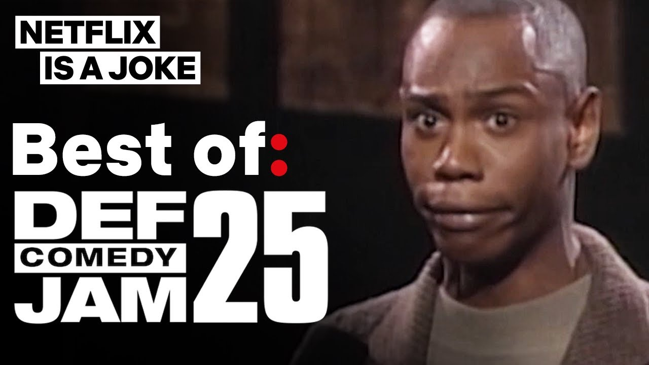 Dave Chappelle, Chris Tucker, Kevin Hart & More In Best Of: Def Comedy Jam 25 | Netflix Is A Jok