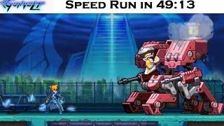 Azure Striker Gunvolt: Story mode Speed run in 49:13 (In-game time old3DS)