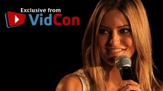 VidCon 2012 - IJustine and Dane Boe On Turning The Annoying Orange Into a TV Show