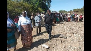 Murder suspect shows grave where slain Machakos priest was buried