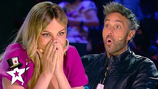 Magician Performs JAW-DROPPING Danger Stunt For The Judges   Magicians Got Talent
