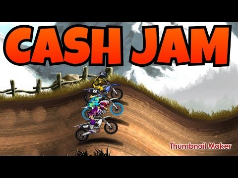 MAD SKILLS MOTOCROSS 2 - CASH JAM - WHEAT ROLLS - DID I JUST USE ALL MY MONEY!?