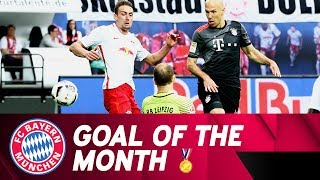 Robben's Winning Solo in 5-4 Victory vs. RB Leipzig🏅 | Goal of the Month May