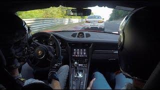 991.2 GT3&RS + Ringtaxi M5 on a Terroristenfahrten Nordschleife//.