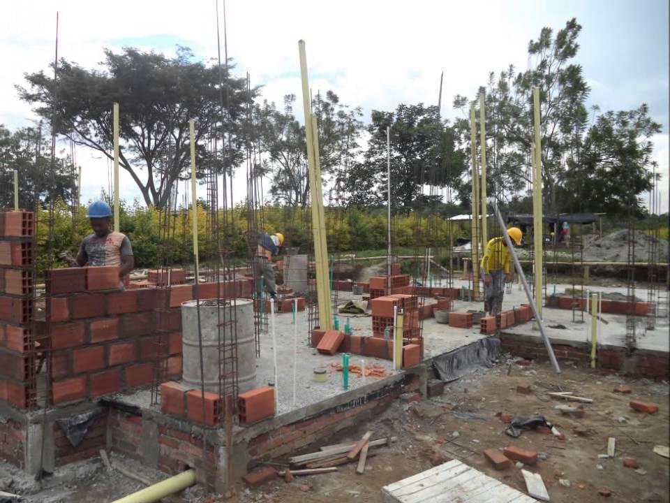 Proceso de construcci n mocawa casas de campo octubre 2014 for Construccion casas de campo