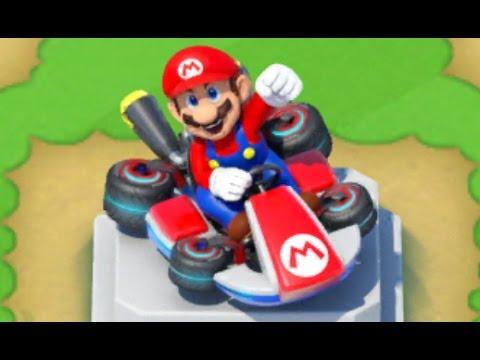 Super Mario Run - Mario Kart 8 Deluxe Event Rewards - New Statues