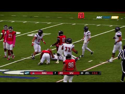 Red Flash Football vs Robert Morris Highlights