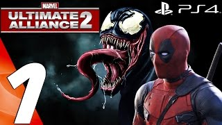 Marvel Ultimate Alliance 2 (PS4) - Gameplay Walkthrough Part 1 - Prologue