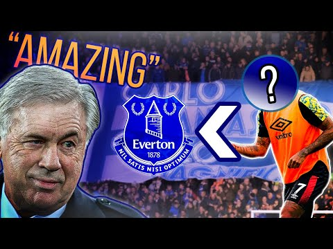 Everton coaches 'AMAZED' by new signing who's 'Incredible' as deadline deal close!