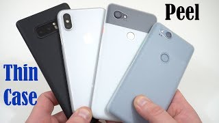 Thinnest Case for Pixel 2 XL, Note 8 and iPhone X!