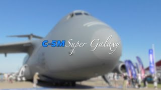 USAF C-5M Super Galaxy - Oshkosh 2016