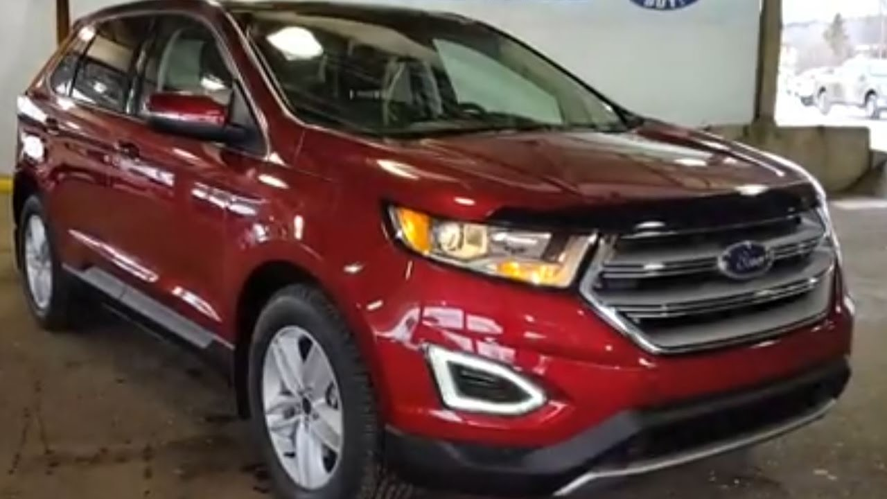 2017 Ford Edge Awd Sel Review Prince George Motors