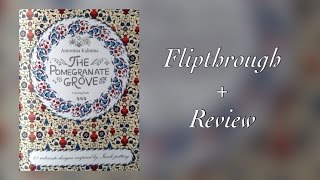 The pomegranate grove coloring book - flipthrough + review