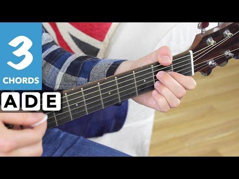 Johnny B. Goode EASY Beginner Guitar Lesson - EASY 3 Chord Song #10