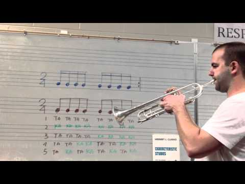 Exercise to Improve Double Tonguing Technique On Trumpet
