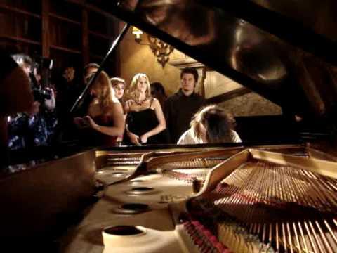 eddie van halen on grand piano
