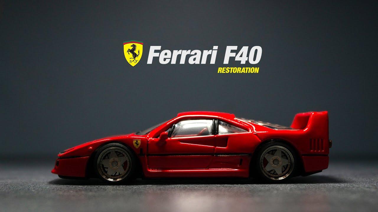 Ferrari F40 Matchbox Restoration