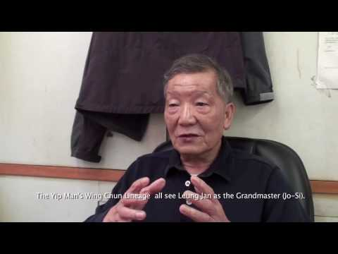 An interview with GM Ip Man's son by Sifu Sergio