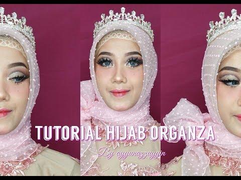 Tutorial hijab organza