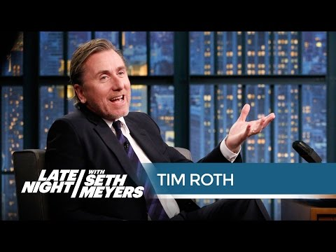 Tim Roth: Samuel L. Jackson Definitely Knows Donald Trump - Late Night with Seth Meyers