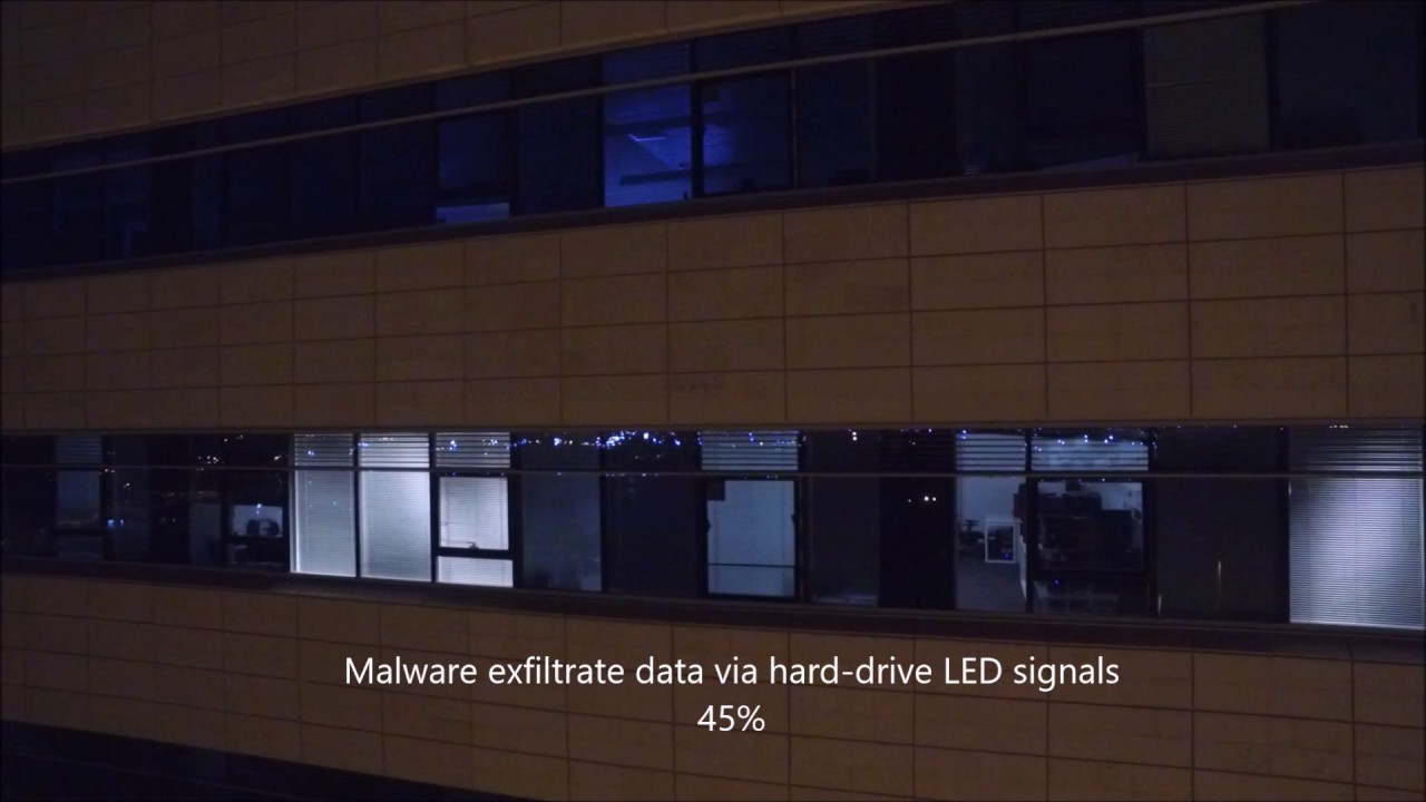 Watch Malware Steal Data From Air Gapped PC With Blinking Lights and
