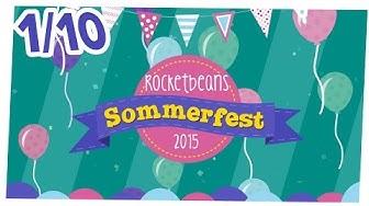 [1/10] Vorstellung der Spiele und Teilnehmer   Rocket Beans TV-Sommerfest   28.08.2015
