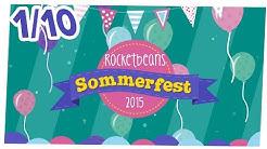 [1/10] Vorstellung der Spiele und Teilnehmer | Rocket Beans TV-Sommerfest | 28.08.2015
