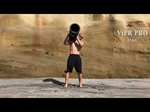 The Brand New 32KG ViPR PRO Beach Workout