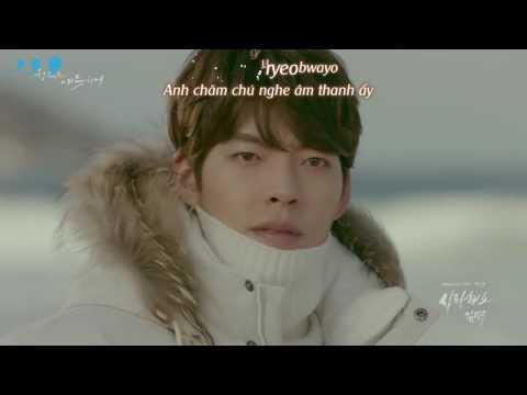 [Vietsub + Kara] Kim Bumsoo – I Love You (Uncontrollably Fond OST Part 9)