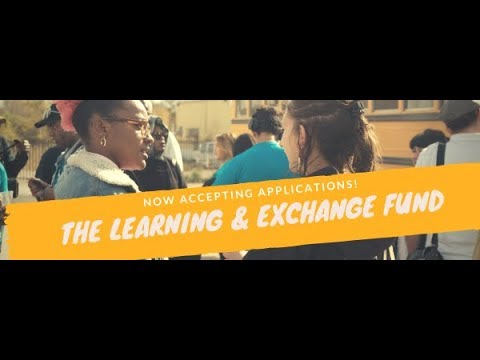 Learning & Exchange Fund Webinar 2018-2019