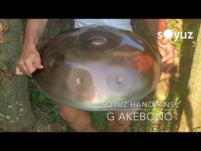 Handpan Soyuz G Akebono