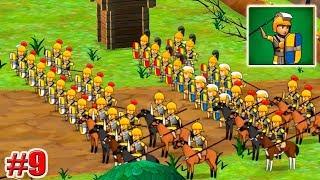 НОВЫЕ СОЛДАТЫ! 10,000,000 МОНЕТ! Grow Empire Rome Игры на андроид Рим Империя 9 серия