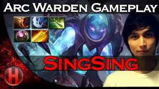 SingSing Arc Warden Cancer Gameplay Dota 2 | 6.86 Patch